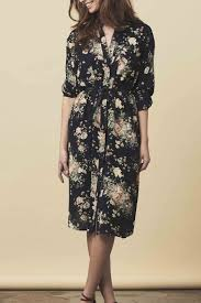lollys laundry lollys laundry black floral shift dress from netherlands by the