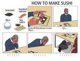 Sushi Meme - vision how to make sushi know your meme
