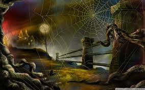 halloween spiders background spider web hallowmas halloween hd desktop wallpaper widescreen
