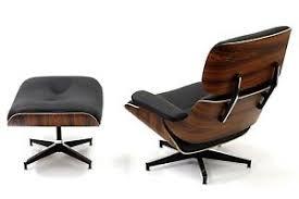 Lounge Chair Ottoman Plywood Lounge Chair Ottoman Palisander 100 Genuine Top Grain