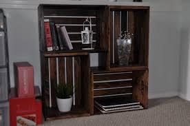 narrow wood bookcase rustic unpolished mahogany wood tall narrow 5 tier bookcase of f