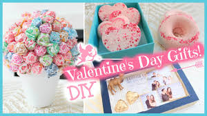 Homemade Valentine Gifts For Him by Diy Valentine U0027s Day Gift Ideas 2015 Youtube
