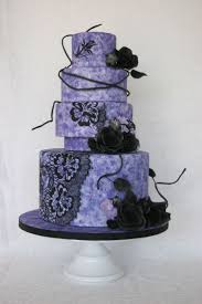 295 best wedding cakes dark colours images on pinterest