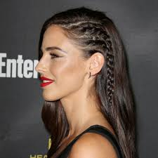 side braids which make your head look like it u0027s shaved 30