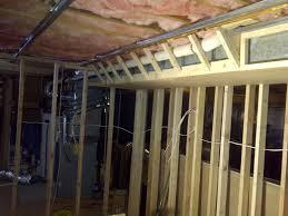 basement soffits and how to build them u2013 basement finish design