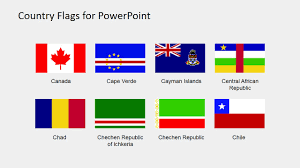 African Flags And Their Countries Country Flags Clipart For Powerpoint B To C Slidemodel