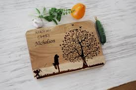 engraved wedding gifts ideas unique wedding gift for personalized cutting board