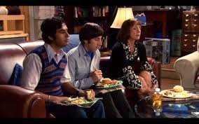 the big bang theory thanksgiving food in the big bang theory editor eats