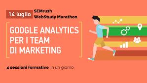 SEMrush WebStudy Marathon     Google Analytics