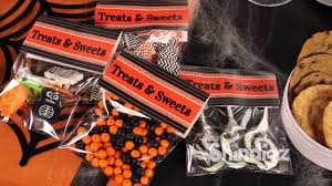 halloween candy treat bags personalized diy favor bags