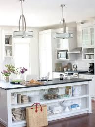 kitchen lighting crystal kitchen island lighting ideas all white