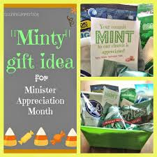 gift of the month ideas zucchini summer commit mint to church minister appreciation gift
