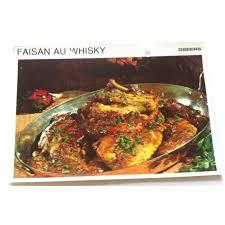 cuisine faisan fiche cuisine vintage rétro faisan au whisky