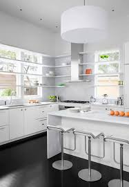 White Kitchen Cabinets Dark Wood Floors by White Kitchen Cabinets With Dark Floors Voluptuo Us