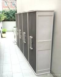 diy outdoor storage cabinet diy outdoor wood storage cabinet cabinets with shelves tall garden