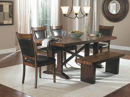 Modern Dining Room Sets On Sale Simple Cheap Untreated Mahogany Dining Table With Bench Seats