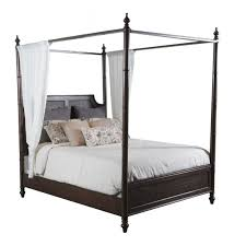 queen canopy bed powell passages queen canopy bed cane in akzonobel 14bo7024qcnc