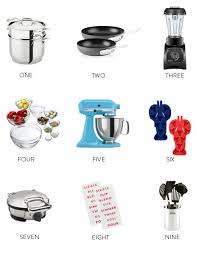 bridal registry ideas kitchen items for our wedding registry design