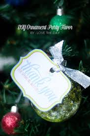 christmas ornament favors diy party decorations a handmade party hop
