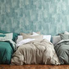 washed cotton duvet cover sets by mm linen
