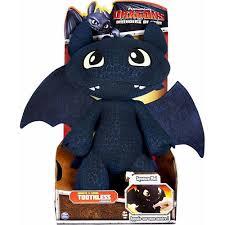 train dragon defenders berk toothless plush