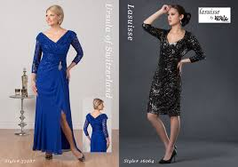 Mother Of Bride Dresses Couture by Ursula Of Switzerland Special Occasion Fashion Mother Of The