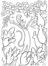 dr seuss coloring pages fish fish dr seuss