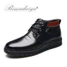 s boots comfort bimuduiyu winter shoes warm comfortable leather martin