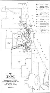 Chicago Union Station Map by Technology That Changed Chicago Union Stockyards Part One