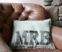 Pillows For Brown Sofa by Bedroom Traditional Monogrammed Pillows With Brown Sofa For