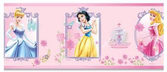 frise murale chambre fille disney princesse frise murale 15 3 cm de largeur