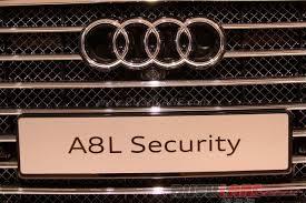 audi quattro price in india audi a8 l security price in india at rs 9 15 crore auto expo 2016