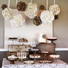 bridal shower decorations 40 creative and rustic bridal shower ideas happywedd