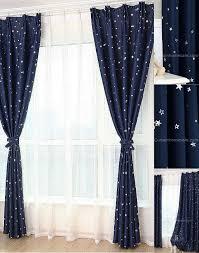 Royal Blue Blackout Curtains Furniture Affordable Dark Blue Star Blackout Fiber Antique Chic