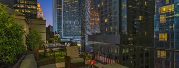 the chatwal new york city producer one bedroom suite with rooftop