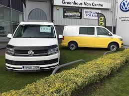 vw minivan vw camper vans available from greenhous vw van centre