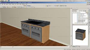 home designer pro cad placing appliances in base cabinets