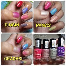 jual kutek change color nail polish kutek berubah warna harga