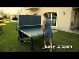 cornilleau ping pong table ping pong table cornilleau sport 300m outdoor uk youtube