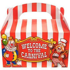 carnival party supplies carnival party favor boxes party favors party supplies