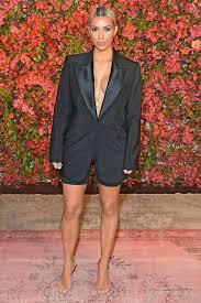nude photos of kim kardashian kim kardashian west goes braless with spandex biker shorts