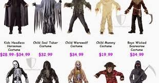 Soul Taker Halloween Costume Scary Halloween Costumes Kids 2014 10 Brands