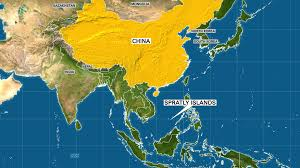 South China Sea On Map by U S Destroyer To Pass Islands In South China Sea Within 24 Hours