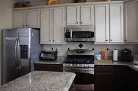 cream painted kitchen cabinets different color kitchen cabinets kenangorgun com