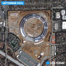 the new iphone will land in apple u0027s flying saucer shaped campus