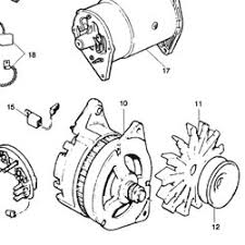 gxe2297 mini alternator a127 70 amp 1990 96 new with pulley