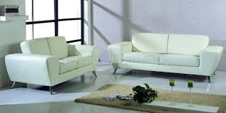 white top grain leather match modern living room sofa w options