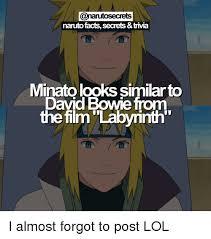 Naruto Kink Meme - naruto facts secrets trivia minatolooks similarto david bowie