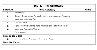 Inventory Template Excel 2010 14 Estate Inventory Templates Free Sle Exle Format