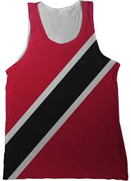 Flag For Trinidad And Tobago Trinidad And Tobago Flag Tank Top Nation Tanks
